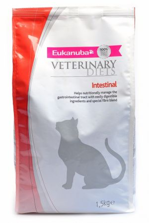 Eukanuba Intestinal для кошек при панкреатите