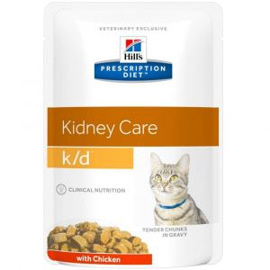 Hill's Prescription Diet K/D Feline Renal Health