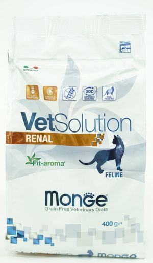 Monge Grain Free Vetsolution Renal Feline